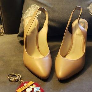 Chloe Shoes - Chloe heels slingbacks shors 37.5 nude blush pink